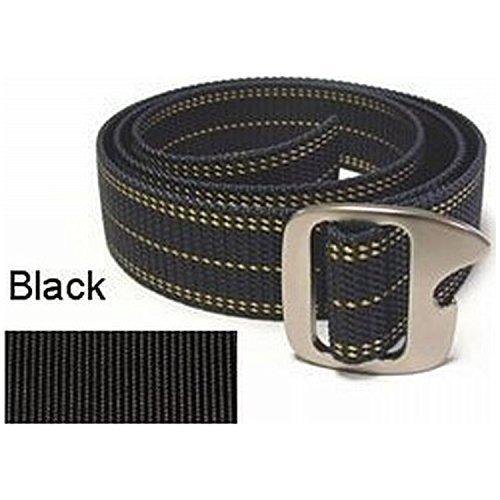 Bison Designs Tap Cap 38mm Belt with Gunmetal Buckle (Black, Max 38-Inch Waist/Medium) (Chaco Belt compare prices)
