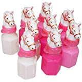Pink Pony Bubble Bottles - Cowgirl (2 dz)