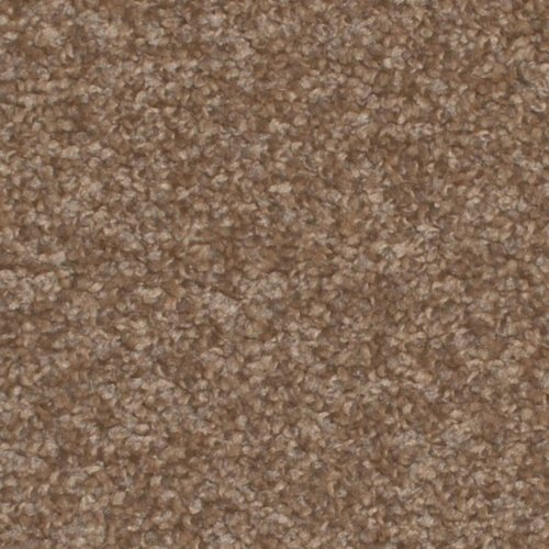 Dark Beige Shag Pile Carpet, Shaggy Saxony Hessian Backed Deep Pile