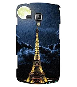 Printdhaba Tower D-3849 Back Case Cover For Samsung Galaxy S Duos 2 S7582