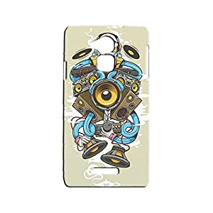 BLUEDIO Designer Printed Back case cover for Coolpad Note 3 - G3815