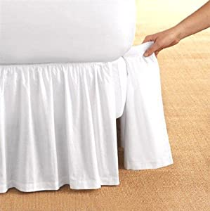 Detachable King Size Bed Skirts