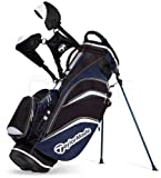 TaylorMade Pure Lite 3.0 Stand Bag (Black/Navy/White)