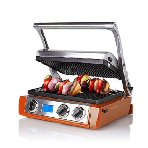 Wolfgang Puck 5-in-1 Grill/Griddle with Dual Temperature Controls