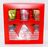 The Body Shop Hand Cream Trio Gift Set Includes Wild Rose, Hemp and Almond