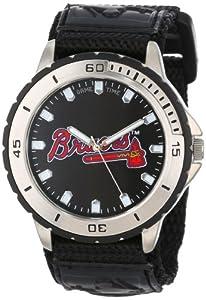 Game Time Men's MLB-VET-ATL Veteran Custom Atlanta Braves Veteran Series Watch