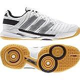 Adidas Women's Adipower Stabil 10.1 Indoor Court Shoe-Night Shade/Running White/Vivid Berry