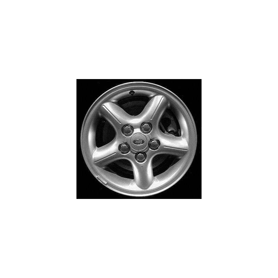 00 02 LAND ROVER RANGE ALLOY WHEEL RIM 16 INCH SUV, Diameter 16, Width 8 (5 GROOVED SPOKE), Lighting design, SILVER, 1 Piece Only, Remanufactured (2000 00 2001 01 2002 02) ALY72163U10