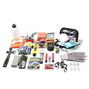 ASR Outdoor 4 Person Complete Emergency Preparedness Disaster Urban Survival Kit