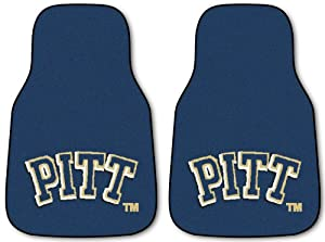 Buy Fanmats Pittsburgh Panthers Carpeted Car Mats by Fanmats