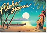 Aloha Hawaii by Kerne Erickson - Hawaiian Art Collectible Refrigerator Magnet