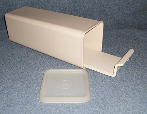 Vintage Almond Tupperware Cheese/Cracker Keeper 1696-4 (Cheese Tupperware compare prices)