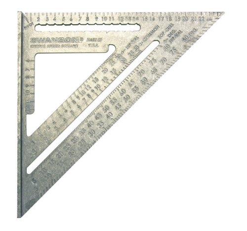 Swanson Metric Speed Square (Aluminum) peter swanson mõrva väärt
