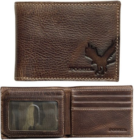 Fossil Mens Leather Wallet - Lawson Traveler (Color: Brown) - Buy Fossil Mens Leather Wallet - Lawson Traveler (Color: Brown) - Purchase Fossil Mens Leather Wallet - Lawson Traveler (Color: Brown) (Fossil, Fossil Accessories, Fossil Mens Accessories, Apparel, Departments, Accessories, Men's Accessories)