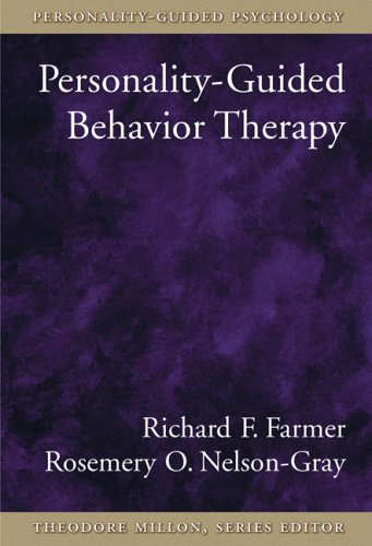 Personality-Guided Behavior Therapy (Personality-Guided Psychology)