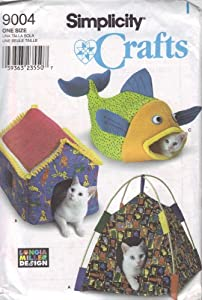 Simplicity Craft Pattern 9004 ~ Longia Miller Design Beds for Cats