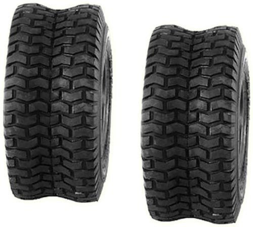 Set of 2 16x6.50-8 16-6.50-8 Turf Tires 4 Ply Tubeless Garden Tractor Lawn mower (John Deere Tires compare prices)