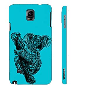 Samsung Galaxy Note 4 Koala Art designer mobile hard shell case by Enthopia