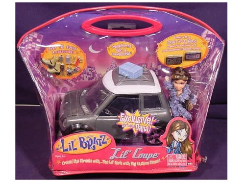 Lil Bratz Lil Coupe Exclusive Includes Dana - Buy Lil Bratz Lil Coupe Exclusive Includes Dana - Purchase Lil Bratz Lil Coupe Exclusive Includes Dana (Bratz, Toys & Games,Categories,Dolls,Playsets,Fashion Doll Playsets)
