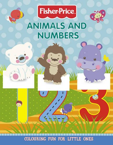 Fisher-Price - Animals and Numbers Colouring Book