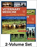 img - for Veterinary Medicine: A textbook of the diseases of cattle, horses, sheep, pigs and goats - two-volume set, 11e book / textbook / text book