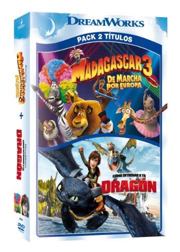 Pack: Madagascar 3 + Cómo Entrenar A Tu Dragón [DVD]