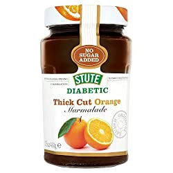 Stute Diabetic Thick Cut Orange Extra Marmalade, 430g