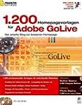 1200 Homepage Vorlagen f�r Adobe GoLive