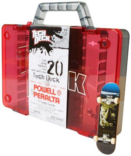 Tech Deck - 6014255 - Finger Skate - Malette de Rangement + 1 Skate