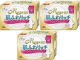 【まとめ買い】エリス Megami 肌ふわリッチ 多い日の昼用 羽つき 22枚入×3個パック
