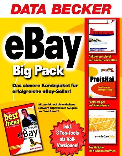 Ebay-Big-Pack-CD-ROM-u-Buch-3en-Der-Auktionator-Kaufen-und-Verkaufen-vollautomatisch-PreisHai-Der-ultimative-Schnppchenjger-smartstore-biz-Der-schnelle-und-einfache-Weg-zum-erfolgreichen-WebStore-Buch