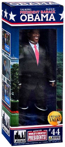 President Obama Talking Action Figure - 1