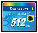 Transcend TS512MCF80 512MB CF CARD (80X  TYPE I )