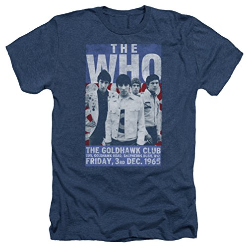 A&E Designs The Who Shirt Goldhawk Poster Heather T-shirt