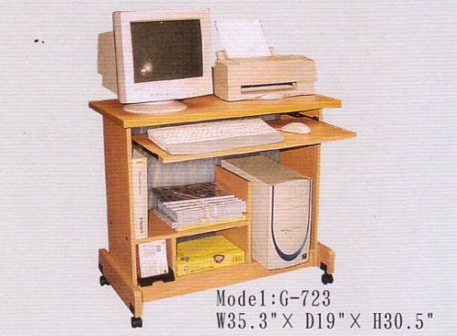 Buy Low Price Comfortable BEAUTIFUL SMALL COMPUTER WORKSTATION ON WHEELS (B000FMNKU0)