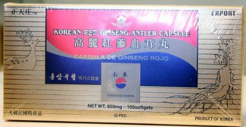 Korean Red Ginseng Antler Capsule