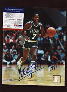 Nate Archibald Boston Celtics Autographed Photo PSA by Hollywood Collectibles