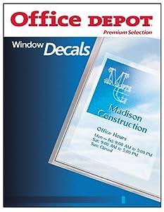 AVE3276 DECALS,WINDOWS,PC,6/PK