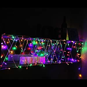 Innoo Tech UK Plug 33feet 100 LED String Fairy Lights Multi Colour with 8 Modes For Christmas,Party,Wedding,Coffee Shop,Patio,Porch
