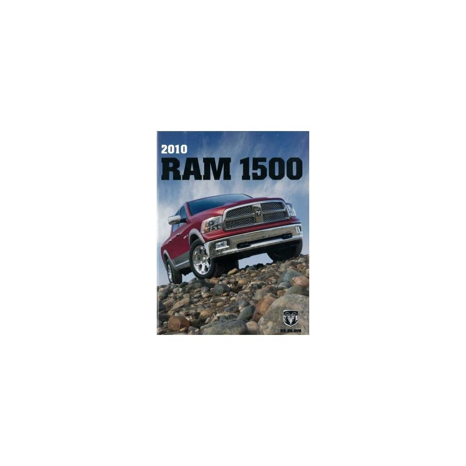 2010 Dodge Ram 1500 Pickup Truck Sales Brochure Literature Book Specifications