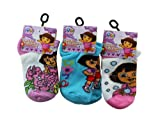 Kids Socks-Dora the Explorer Novelty Socks (Assorted Colors-2 Pairs) [Apparel]