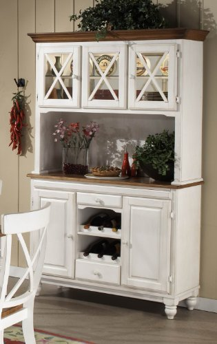Buy Low Price Homelegance Expedition White Buffet & Hutch – Homelegance (715W-50)