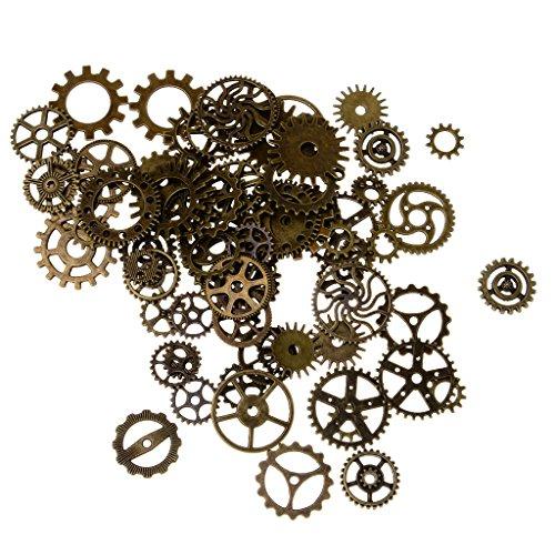 100pcs-assortiment-charms-roue-dentee-pendentif-bricolage-bronze-antique