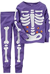 Carter's Baby Girls' Glow-in-the-dark Halloween Pajamas