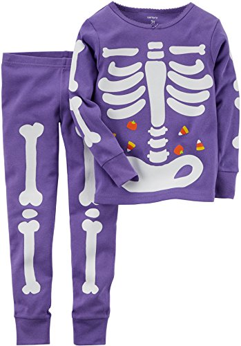 Carter's Big Girls' Glow-in-the-dark Halloween Pajamas