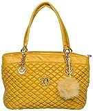 Urbane chics Women's Handbag (Yellow, CU-39Yellow)