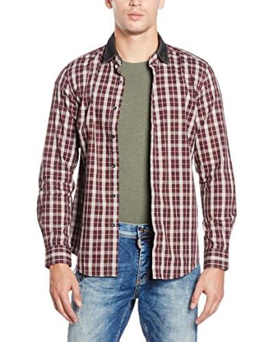 Antony Morato Camisa Hombre Granate ES 46