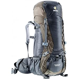 Deuter Aircontact 70 + 10 Pack - Women's Black / Stone One Size