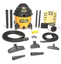 Shop-Vac 9609710 18-Gallon 6 5-Peak HP Ultra Pump Industrial Vacuum