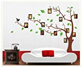 Trees with photo frames wallsticker AY803A